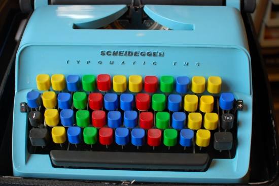 Coloured Keyboard
