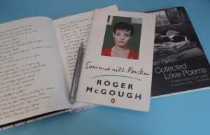 """Summer With Monika"" by Roger McGough and ""Collected Love Poems"" by Brian Patten"