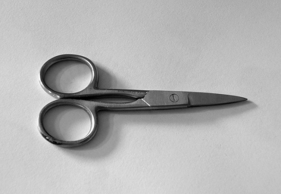 Drafting Poems Scissors (CC James Bowe)