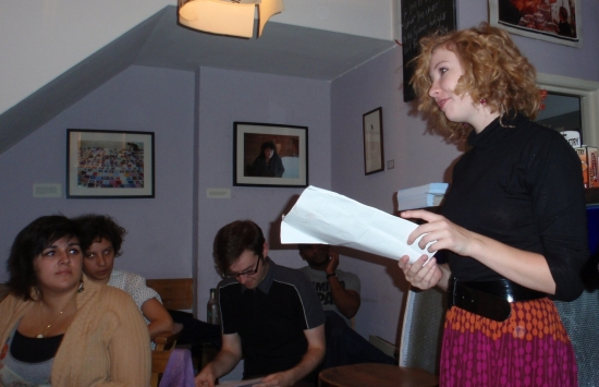 Sarah Fletcher Reads Poetry