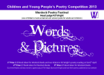 Wenlock poetry comp