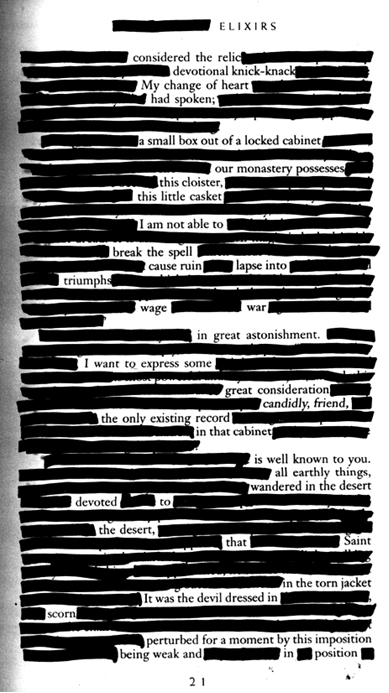 Censorship Poem Jon Stone