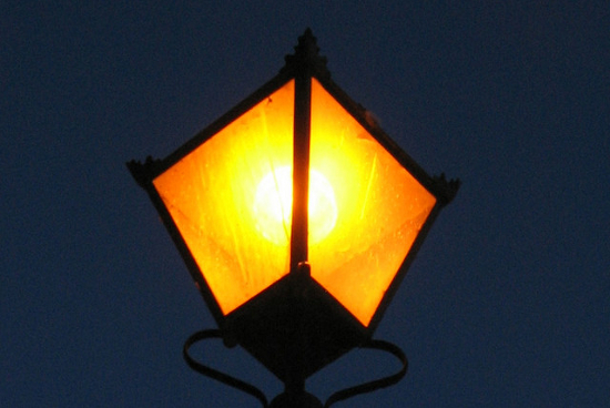Young poets network for Lamp light poem