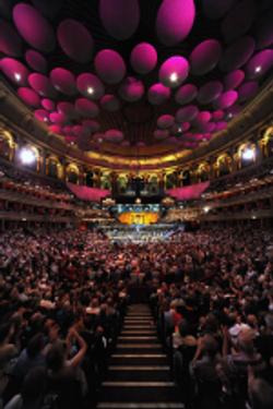 Interior of the Albert Hall