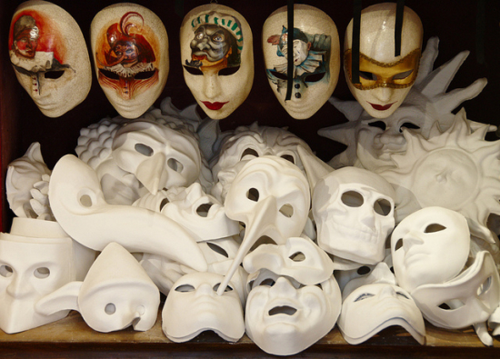 Image of Venetian masks by gnuckx
