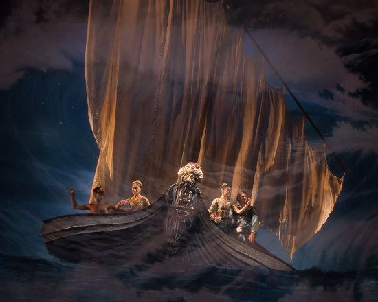 English National Ballet dress rehearsal for the world premiere of Le Corsaire