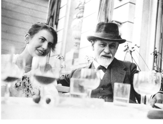 Sigmund Freud and Anna Freud